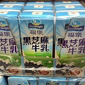 85670 福樂 Fresh Delight 黑芝麻保久乳飲品 鋁箔包 每組200毫升x24入 乳含量50%以上 219 02.jpg