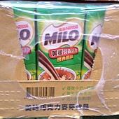 48852 Milo 美祿久藏巧克力麥芽牛奶 每組198毫升x24入 開封請冷藏 添加50%鮮奶 台灣製 20150515 315 02