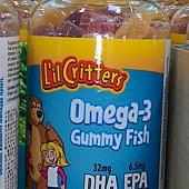 214443 L'IL Critters 咁貝熊魚軟糖 OMEGA-3 EPA DHA 檸檬口味 180粒 美國製 20150523 479 02.jpg