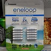137510 Panasonic (原Sanyo) ENELOOP  eneloop AAA 4號 800mAh 低自放充電電池 10入 日本製 699 02