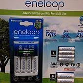 176230 Panasonic (原Sanyo) ENELOOP  充電器電池組合 6xAA & 4xAAA 電池日本製 可單充混充999 02
