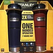 185945 Stanley 雙層不鏽鋼保溫杯 每組473mlx2 深藍色+紅色 949 02.jpg