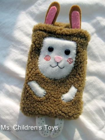 兔比萬用袋(棕)