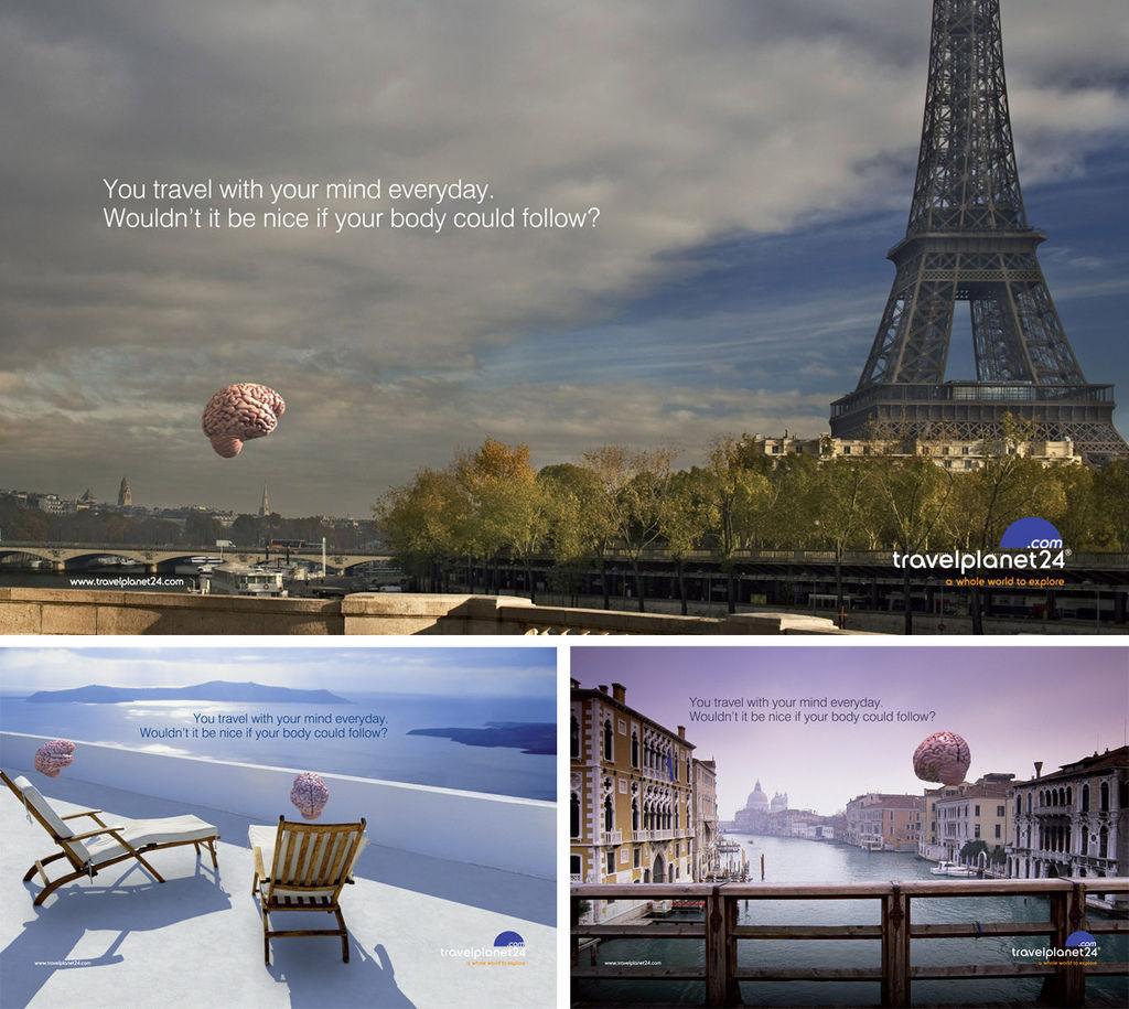 旅行廣告範例N04-旅遊業travelplanet24線上旅行社(imagedj典匠資訊圖庫專業知識分享)