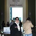 大英博物館入口