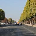 香榭大道馬路