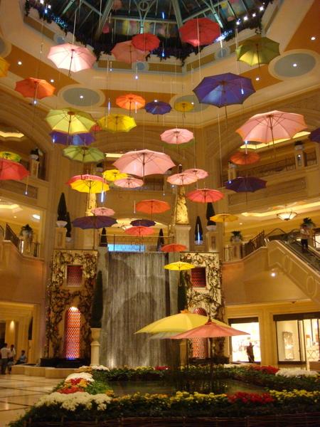 都是雨傘的飯店