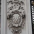 白金漢宮柱子上的雕刻