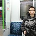 Jeff 新奇搭地鐵