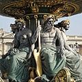 協和廣場的神像