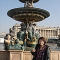 協和廣場的噴泉