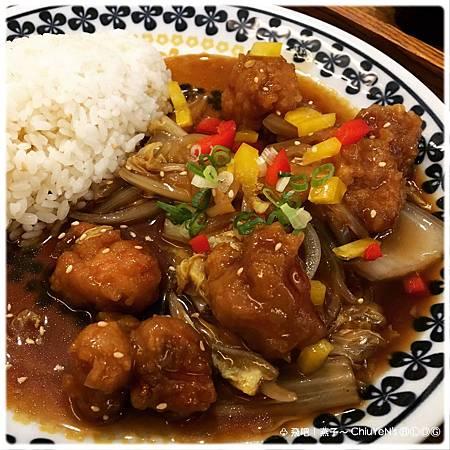 金食壹‧和風洋食1-糖醋雞丁套餐2.jpg