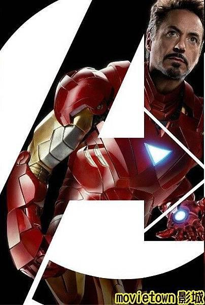 movietown影城《復仇者聯盟》全新8大角色海報+《復仇者聯盟》先行版電影預告片2(圖+新聞+影)04鋼鐵人Iron Man Tony Stark (複製).jpg