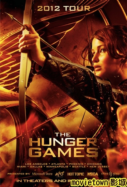 飢餓遊戲海報│饥饿游戏海报The Hunger Games Poster2新