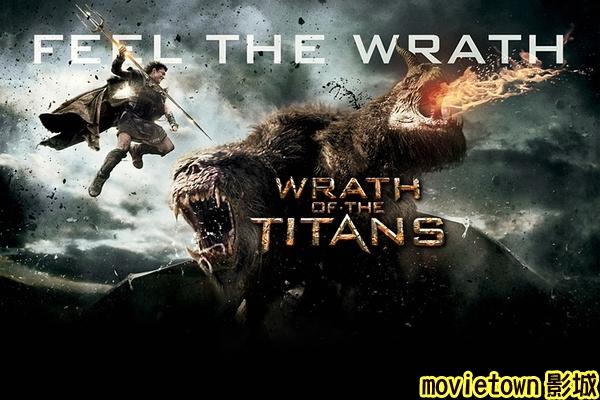超世紀封神榜2怒戰天神海報│狂.神.魔戰海報│诸神之怒海报Wrath of the Titans Poster4新