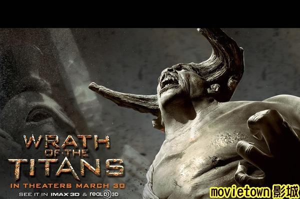 超世紀封神榜2怒戰天神海報│狂.神.魔戰海報│诸神之怒海报Wrath of the Titans Poster6新
