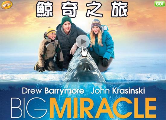【鯨奇之旅海報│巨大奇迹海报big miracle poster】