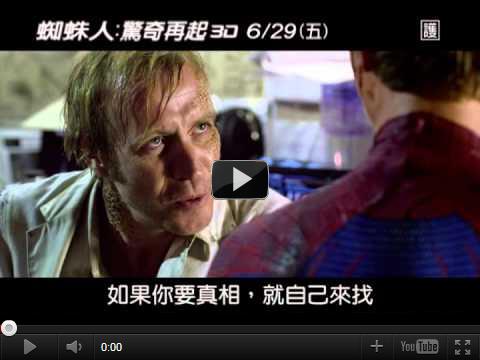 ▼【蜘蛛人 驚奇再起】最新中文版電影預告片-pps翻譯影城▼