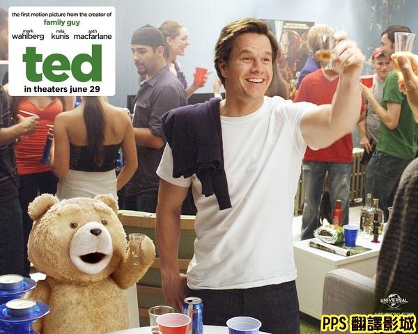 電影熊麻吉海報│賤熊30海報│泰迪熊qvod海报Ted Poster-4新