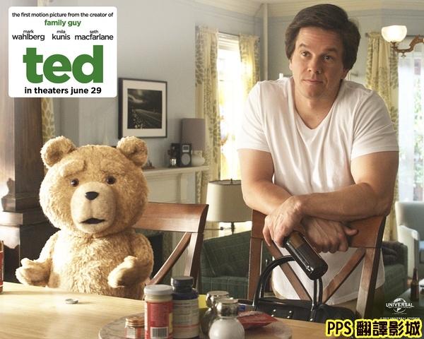 電影熊麻吉海報│賤熊30海報│泰迪熊qvod海报Ted Poster-5新