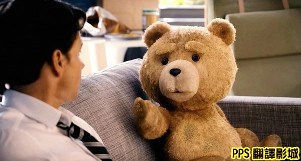 電影熊麻吉劇照│賤熊30劇照│泰迪熊剧照Ted-1馬克華柏格 Mark Wahlberg◎塞思麥克法蘭Seth MacFarlane新
