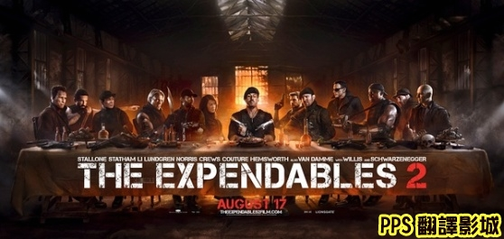 浴血任務2海報│轟天猛將2海報│敢死队2海报The Expendables 2 Poster-1新