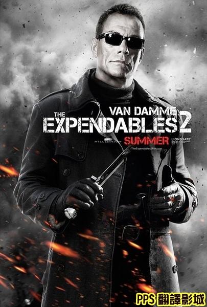 浴血任務2演員│敢死队2演员The Expendables 2-5尚克勞范達美 Jean-Claude Van Damme新