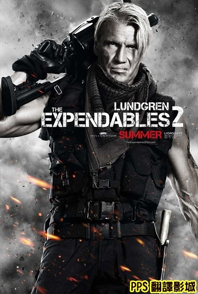 浴血任務2演員│敢死队2演员The Expendables 2-8杜夫朗格 Dolph Lundgren新