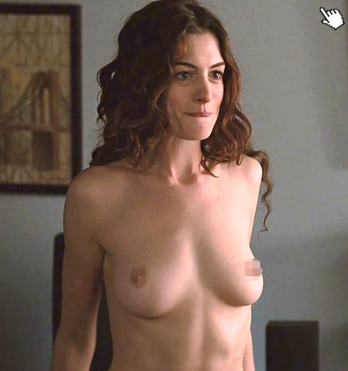 電影悲慘世界演員/孤星淚演員/悲惨世界演员2安海瑟薇露點/安海瑟威露點Anne Hathaway nude (2)