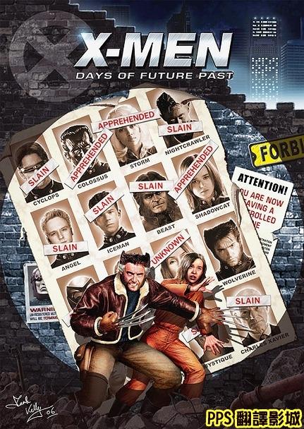 X戰警 未來昔日海報X-Men Days of Future Past上映日期:2014/5/23