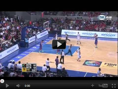 5▼經典戰役-2013年8月3日男籃亞錦賽 中華隊VS菲律賓 全場影片 HD 360p 值得收藏的一刻▼