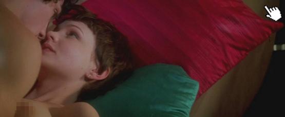 ▼凱莉穆莉根過去在電影中有相當大膽的露點床戲演出naked Isla Fisher nude sense▼