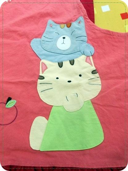 [不看會後悔]超可愛kiro貓拼布包包專賣店包包飾品圍裙襪子拖鞋全都好可愛的日本包包品牌kiro貓! (4)