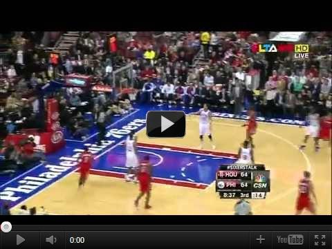 NBA11/14 76人vs火箭-豪小子9記三分球仍遭逆轉:林書豪34分12完整影片-豪讚集錦