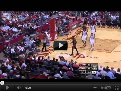 NBA11/12暴龍vs火箭-暴龍再成林來瘋苦主:林書豪31分5籃板完整影片-豪讚集錦