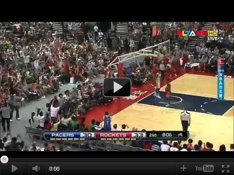 NBANBA台北賽豪讚表現10/13溜馬vs火箭:林書豪17分4助攻3抄截完整影片-豪讚集錦