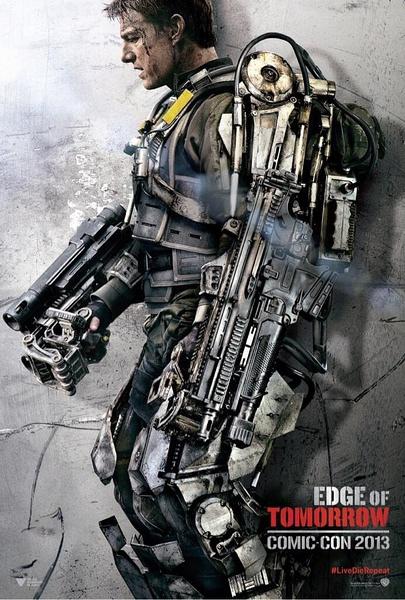 [湯姆克魯斯2014新片]電影明日邊界海報/異空戰士海報/明日边缘海报Edge of Tomorrow Poster