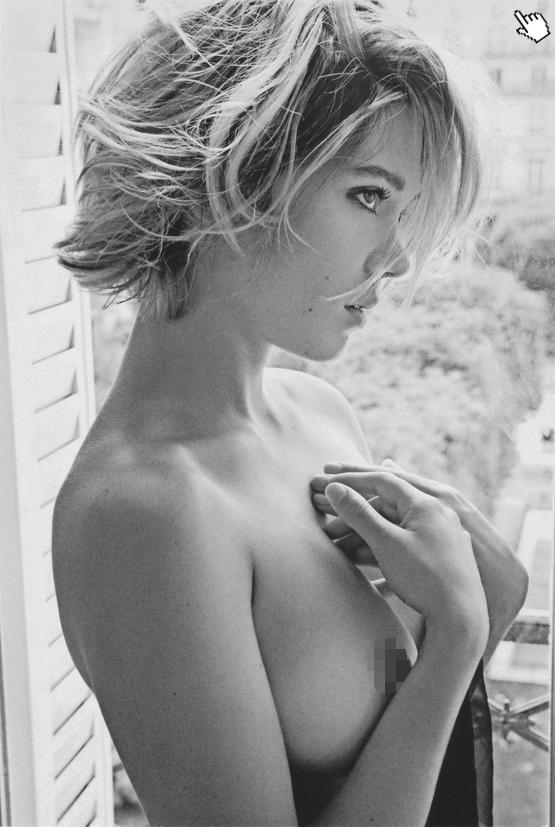 蕾雅瑟杜過去有大膽的露點照片寫真nude Lea Seydoux image