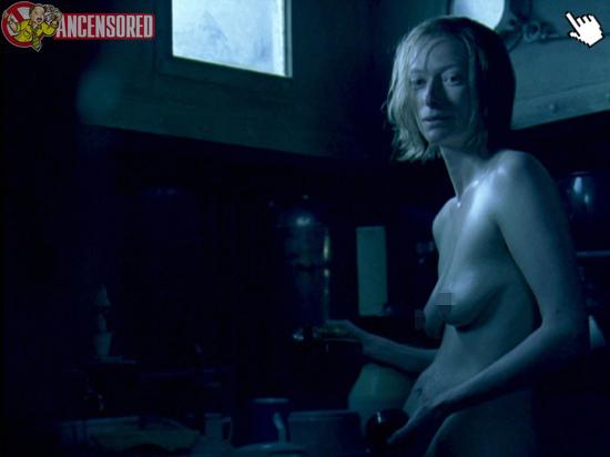蒂妲絲雲頓電影的大膽露點床戲演出naked tilda swinton nude sex sense