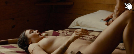 伊莉莎白歐森'復仇'中大膽的露點床戲演出naked Elizabeth Olsen nude sex sense in oldboy(2014)