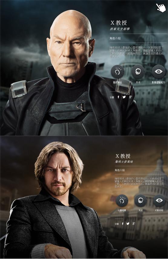 X戰警:未來昔日演員/變種特攻:未來同盟戰/x战警:逆转未来演员MEN DAYS OF FUTURE PAST Cast派屈克史都華飾演'X教授Professo