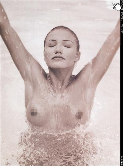 卡麥蓉迪亞有拍過大膽露點寫真Naked Cameron Diaz nude pic