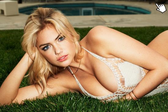 凱特阿普頓有大膽的接近露點寫真照片naked Kate Upton nude pics