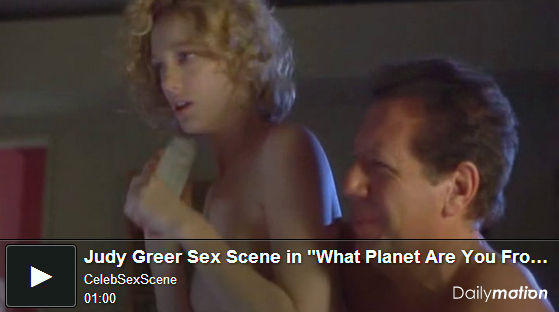 茱蒂葛瑞兒大膽的露點床戲演出naked Judy Greer nude sex sense