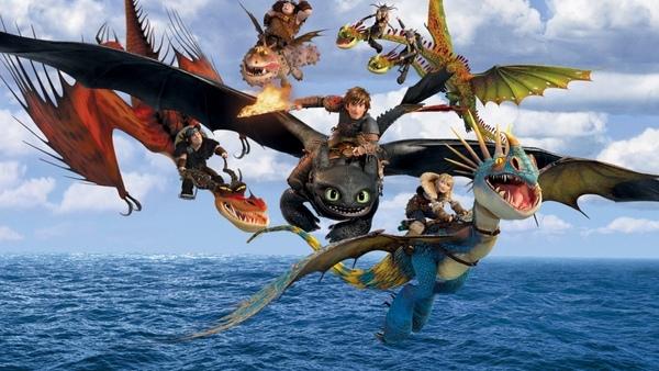 [2014動畫電影]訓/馴龍高手2海報/馴龍記2線上海報/驯龙高手2qvod海报How to Train Your Dragon 2 Poster