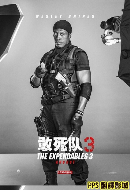 浴血任務3演員介紹│轟天猛將3/敢死隊3演員介紹The Expendables 3 Cast