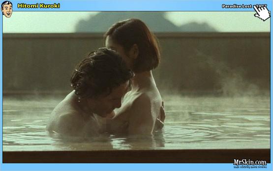 黑木瞳過去在失樂園中有大膽的露點床戲演出naked Hitomi Kuroki nude sex sense