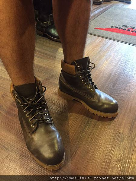 新鞋穿起來意氣風發.JPG