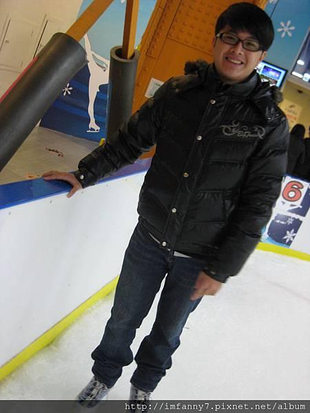 Honey第一次滑冰