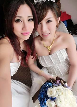 新娘及伴娘髮妝